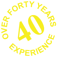 Over Forty Years Experience